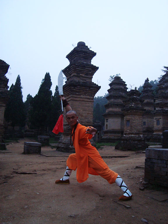 The Tombs In The Shaolin Temple