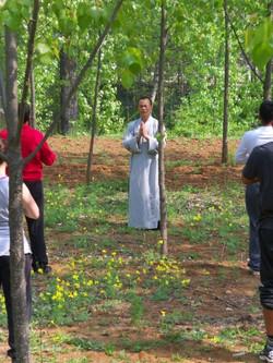 Sifu Teaching Qigong