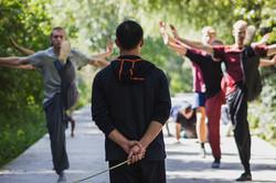 Shaolin Front Kicks