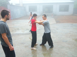 Chin Na Practice