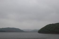 Lake near the school