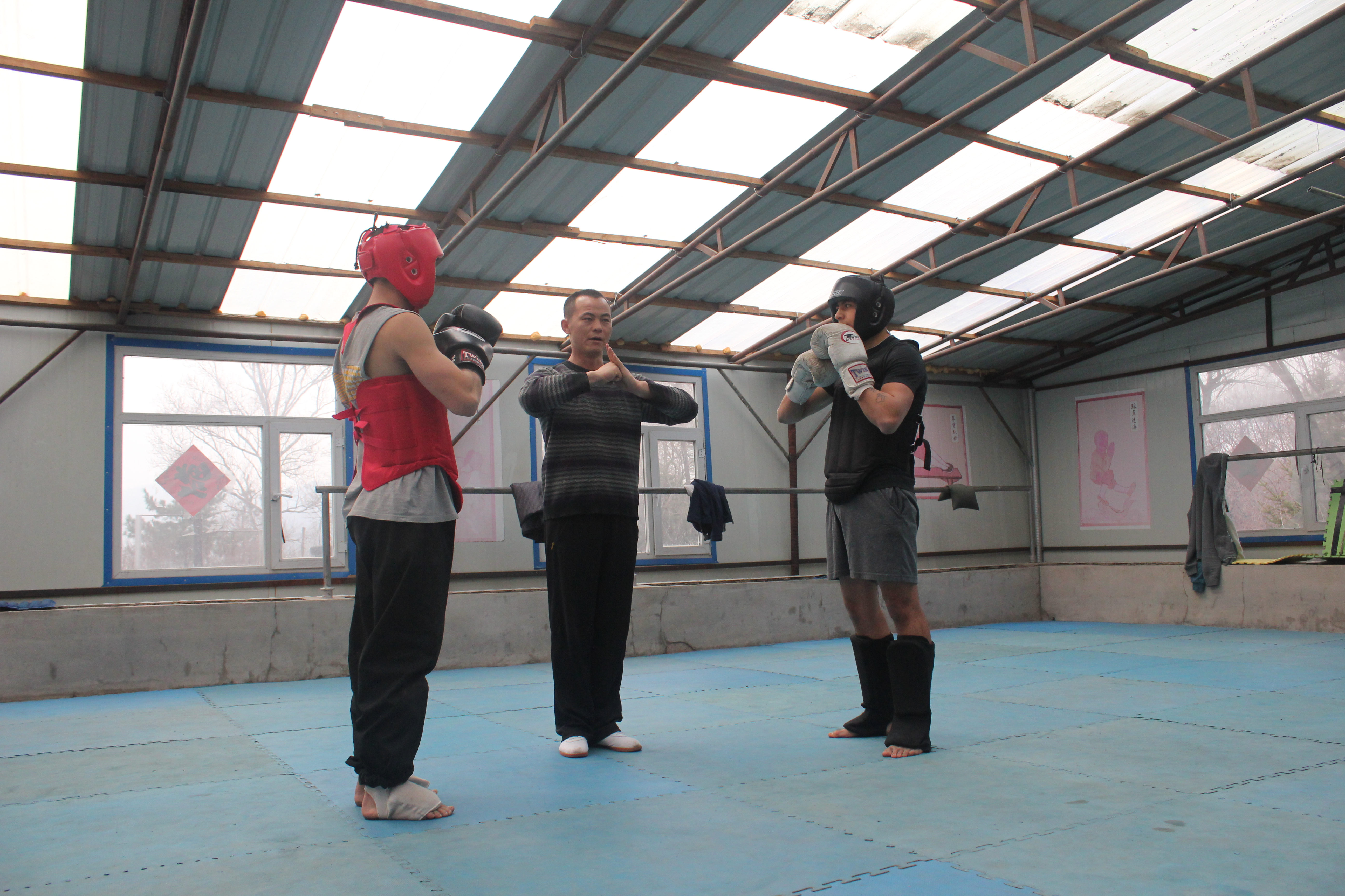 Bowing Before Sparring