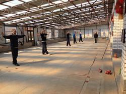 Basic kicks training