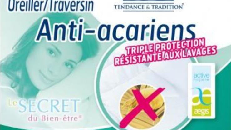 Tradilinge oreiller anti-acariens