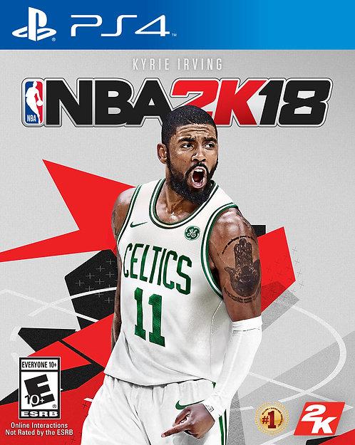 NBA 2K18, 2K, for PlayStation 4, 710425479076