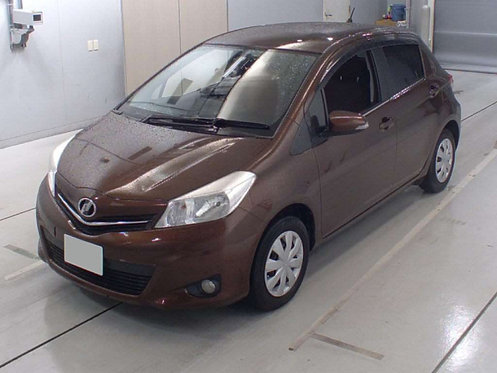 2012 Toyota Vitz Jewela Edition