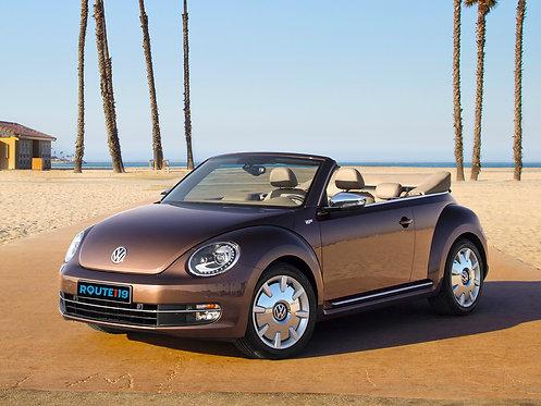2012 Volkswagen Beetle Cabrio 70s Edition