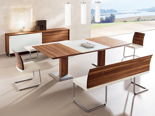 Modern Home Contemporary Dining Set w/Cabinet