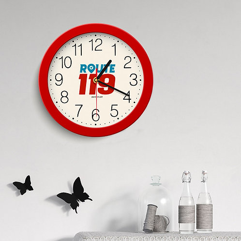 Route 119 Wall Clock