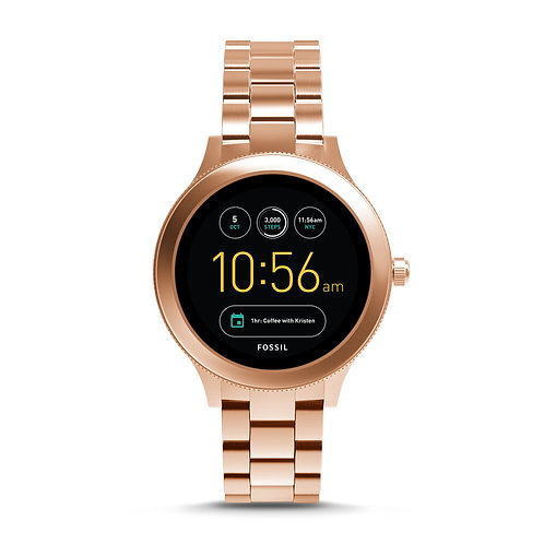 Fossil Gen 3 Smartwatch - Venture Rose Gold-Tone Stainless Steel