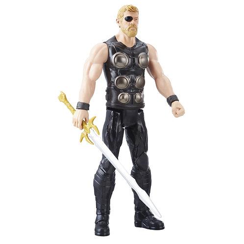 Marvel Avengers: Infinity War Titan Hero Thor 12-In-Scale Figure w/Power FX Port