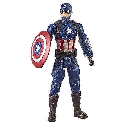 Marvel Avengers: Endgame Titan Hero Series Captain America  12-Inch-Scale Figure