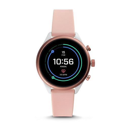 Fossil Fossil Sport Smartwatch - Blush Silicone