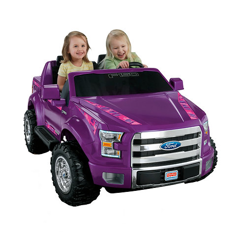 Fisher-Price Power Wheels® Ford F-150–Purple Camo Ride-On Vehicle