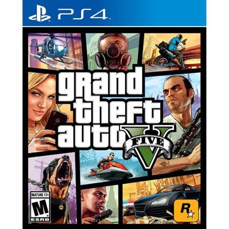 Grand Theft Auto V, Rockstar Games, for PlayStation 4, 710425475252