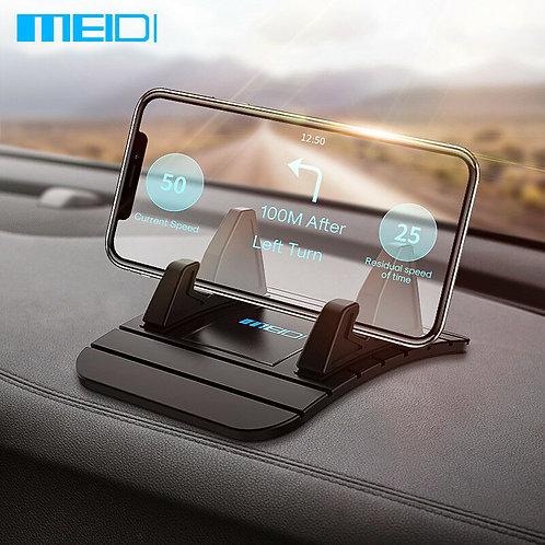 Meidi Car Dashboard Non-Slip Mat Rubber Mount Phone Holder Pad