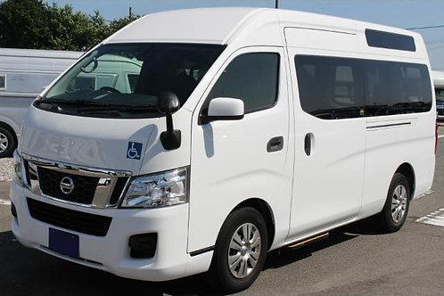 2014 Nissan NV350 Caravan Wheelchair Specification Lift Type