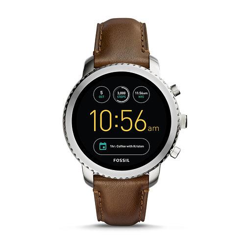 Fossil Gen 3 Smartwatch - Explorist Brown Leather