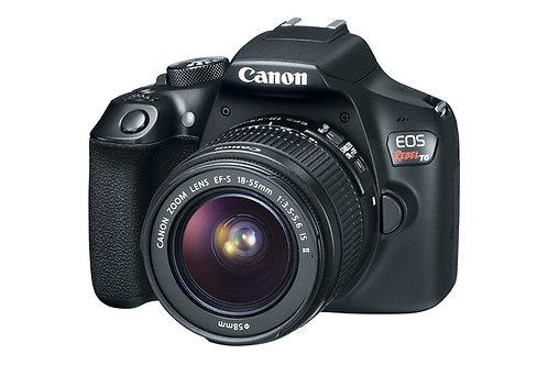 Canon EOS Rebel T6 EF-S 18-55mm IS II 18 Megapixel DSLR Camera Kit