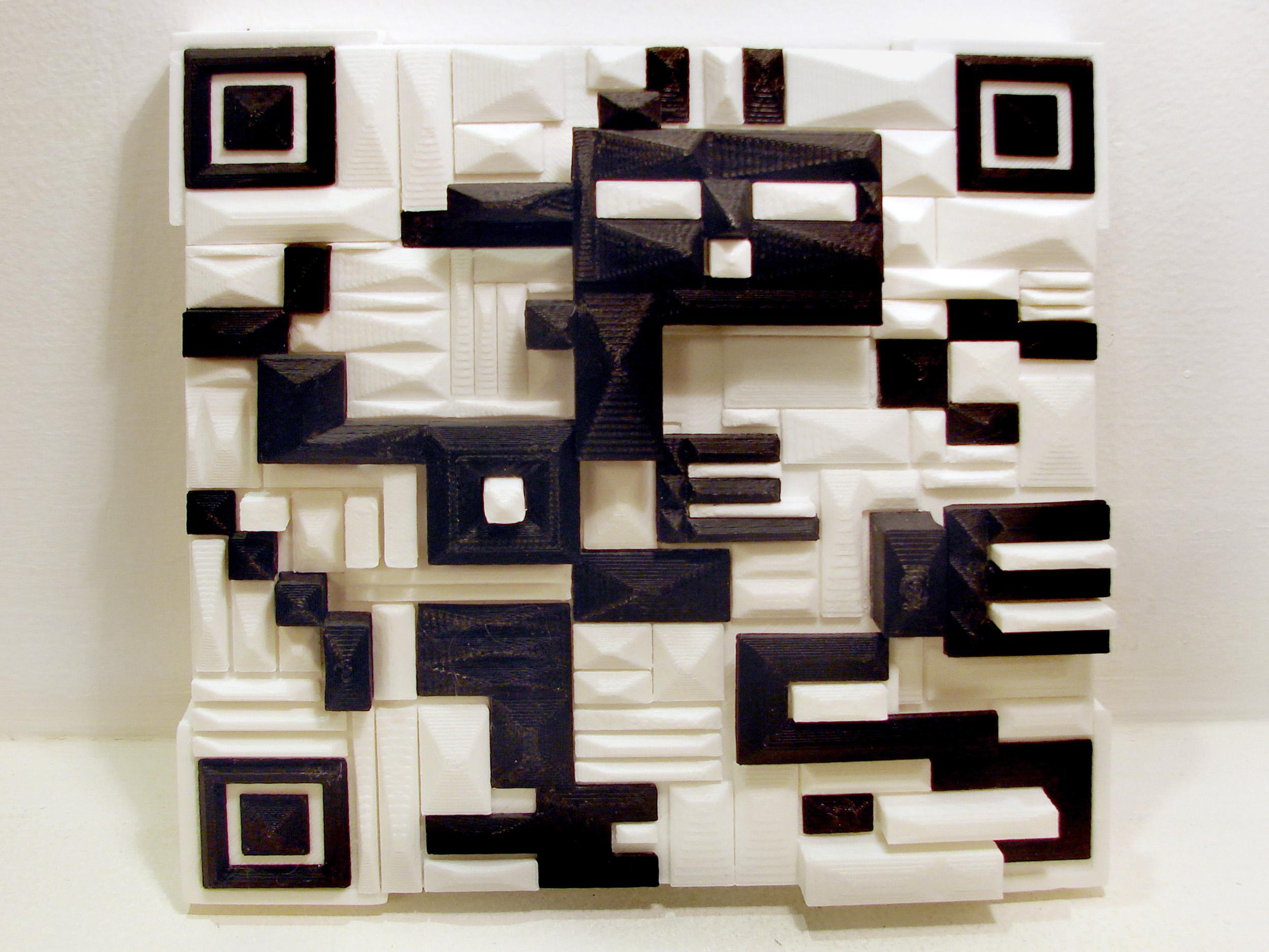 Galina_Bleikh_QR_(Quick_Recognition_Code)_#4_3d-printing_ABS_plastic_18x18cm.jpg