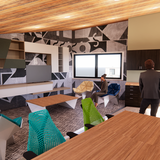 Employee Meeting and Lounge Area