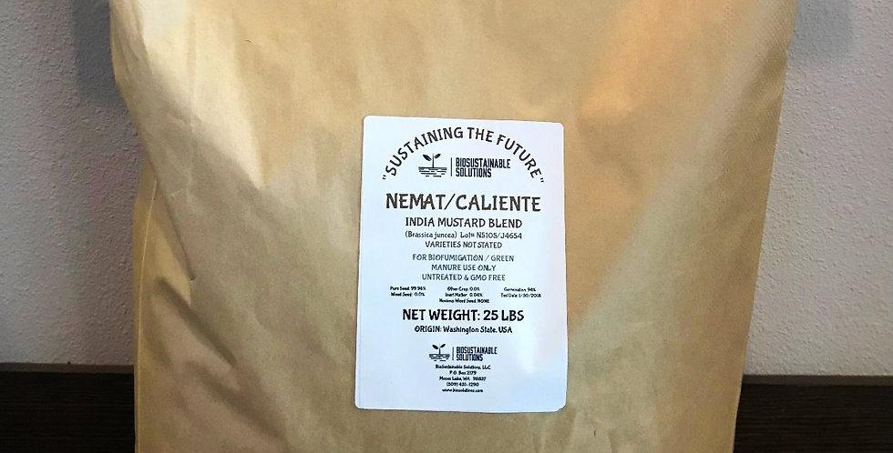 Nemat/Caliente Mustard Blend   25lb Bag