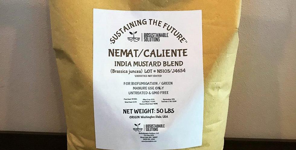 Nemat/Caliente Mustard Blend   50lb Bag
