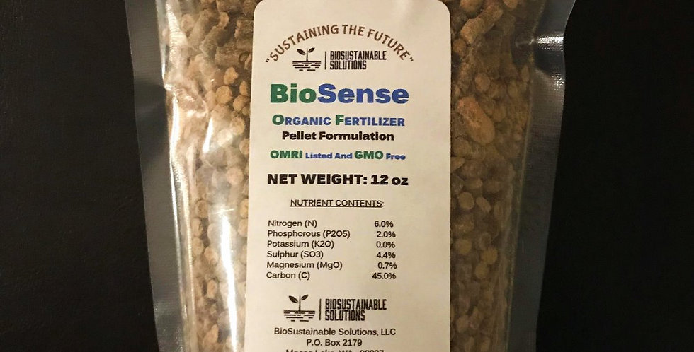 BioSense Pellets   12oz Bag