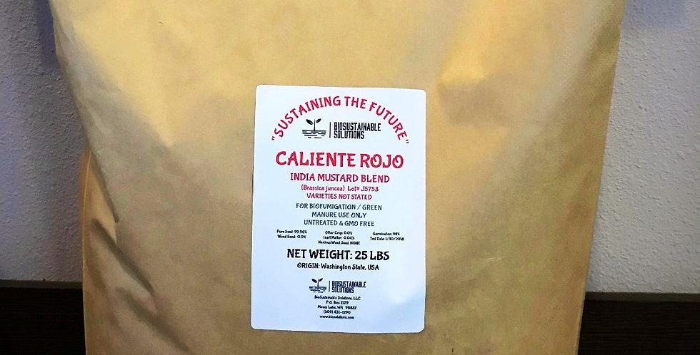 Caliente Rojo Mustard Blend   25lb Bag