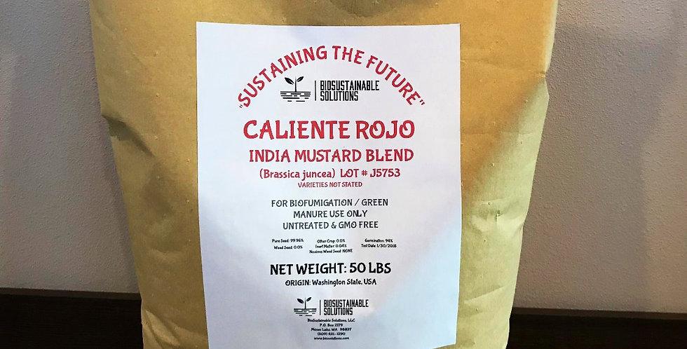 Caliente Rojo Mustard Blend   50lb Bag