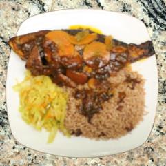 Brown Stewed Fish