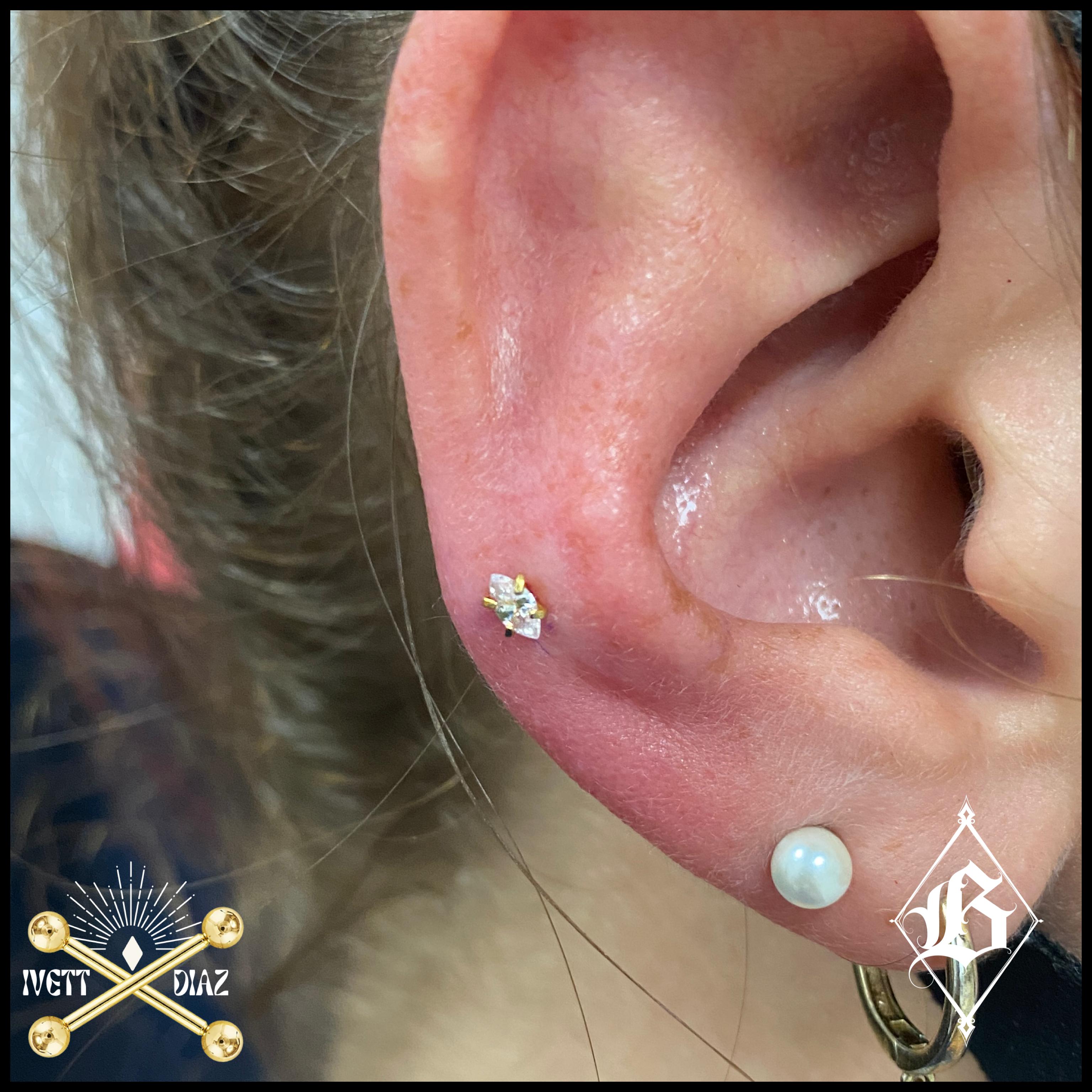 Helix (Cartilage) Piercing