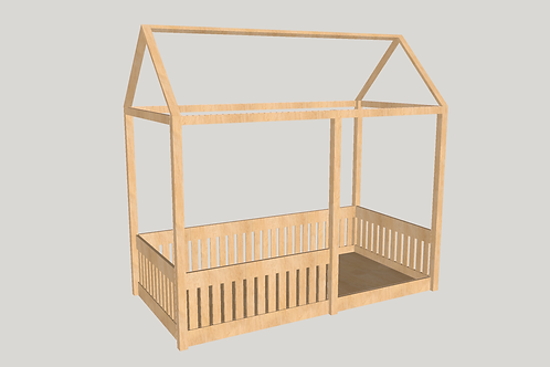 Toddler - House Bed