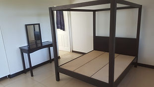 4 Poster bed and Dressing Table