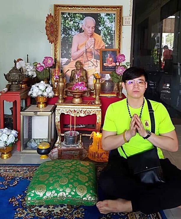 Lp Kloy, Wat Pukaothong