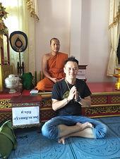 Ajarn Jo at Wat Muang Hom
