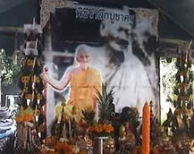 Picture of Luang Pu Thong Wat Rachyota & Luang Phor Lui