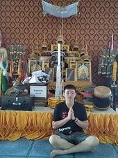 Ah Huat at Wat Muang Hom
