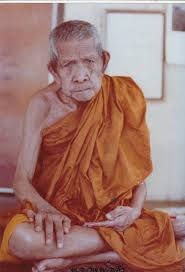 Luang Pu Dum when he was old