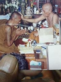 Luang Phor Porn & Archan Erng Wat Cherng Wai