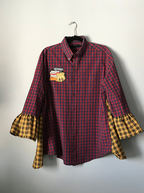 Route 66 Red Plaid
