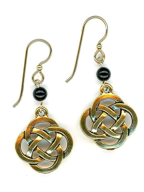 Celtic Large Open Knot, Gold