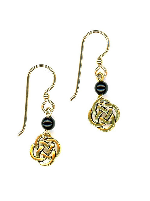 Celtic Small Open Knot, Gold