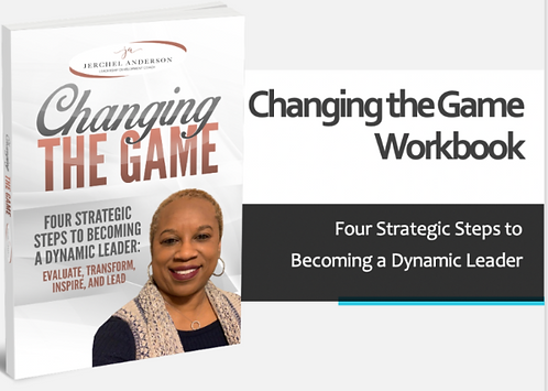 Hard Copy Workbook Companion for Changing the Game Book