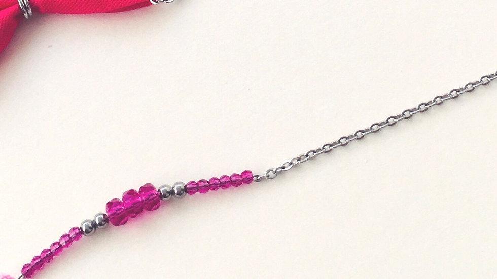 Le bracelet LYDIA acier
