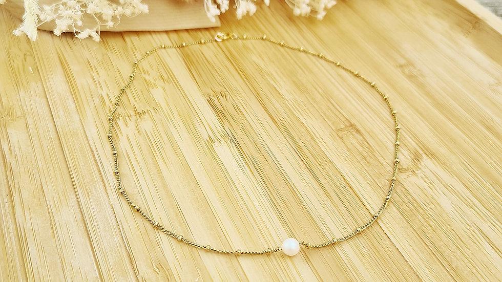 Le collier Liza perlé