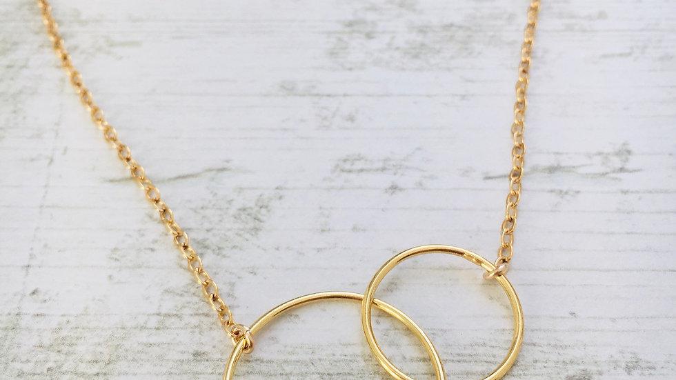 Le collier Double minimal