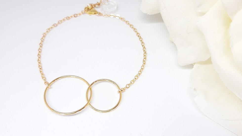 Le bracelet Double minimal