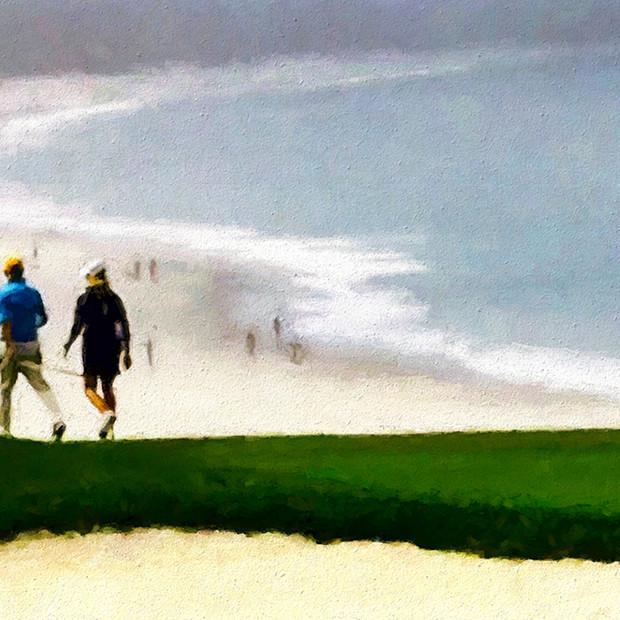 """Spyglass Golfcourse"" Pebble Beach California"