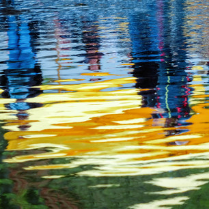 """Reflections Primary Colors Keukenhoff Gardens Holland"